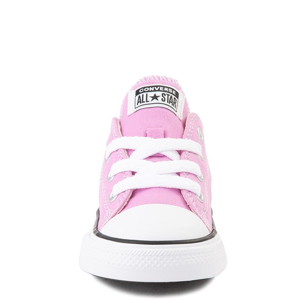 alternate view Converse Chuck Taylor All Star Lo Sneaker - Baby / Toddler - Peony PinkALT4