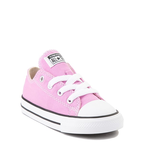 alternate view Converse Chuck Taylor All Star Lo Sneaker - Baby / Toddler - Peony PinkALT5