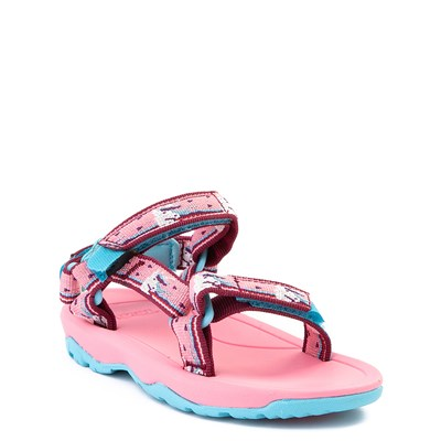 Alternate view of Teva Hurricane XLT2 Sandal - Baby / Toddler - Germanium Pink / Unicorn