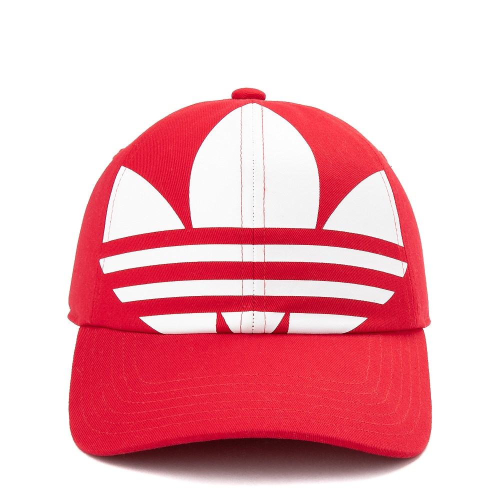 adidas Originals Trefoil Relaxed Dad Hat - Little Kid - Red
