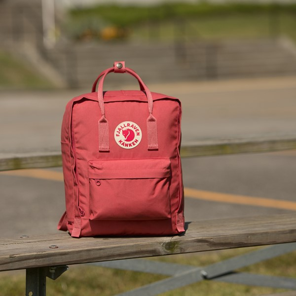 alternate view Fjallraven Kanken Backpack - Dahlia PinkALT1BB