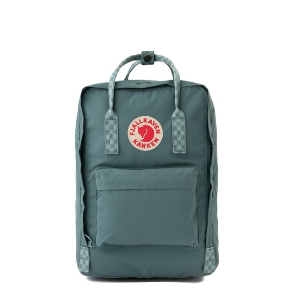 "Fjallraven Kanken 15"" Laptop Backpack - Frost Green"