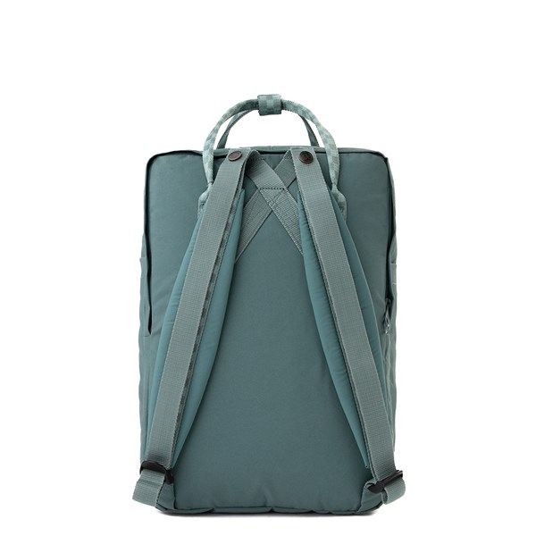 "alternate view Fjallraven Kanken 15"" Laptop Backpack - Frost GreenALT1"