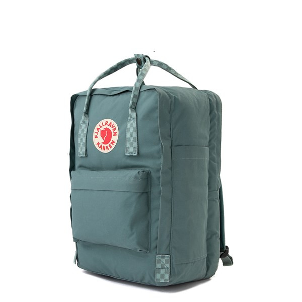"alternate view Fjallraven Kanken 15"" Laptop Backpack - Frost GreenALT2"