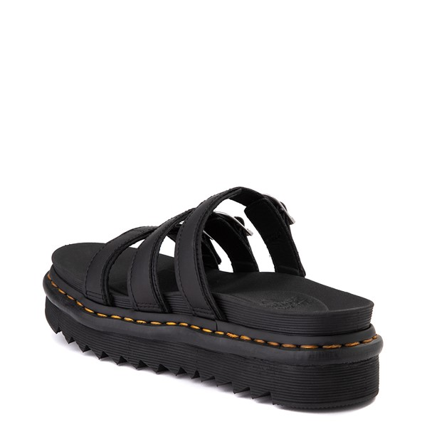alternate view Womens Dr. Martens Blaire Slide Sandal - BlackALT1