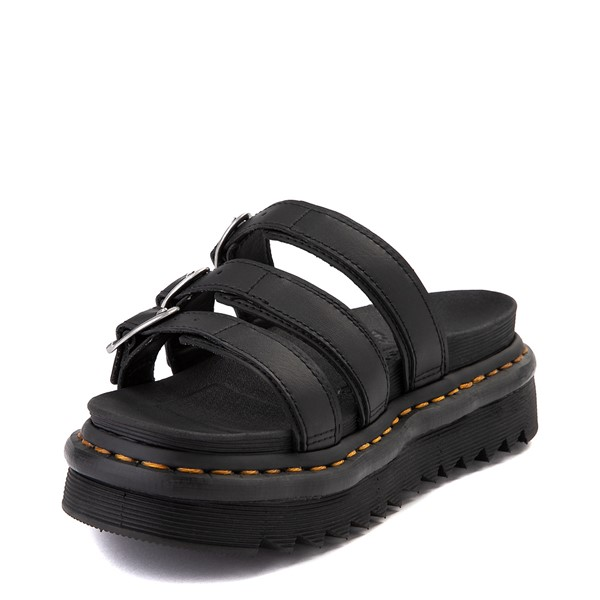 alternate view Womens Dr. Martens Blaire Slide Sandal - BlackALT2