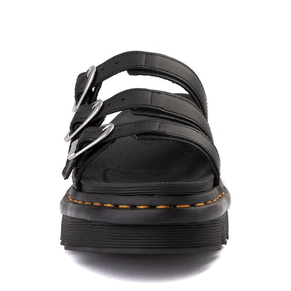 alternate view Womens Dr. Martens Blaire Slide Sandal - BlackALT4