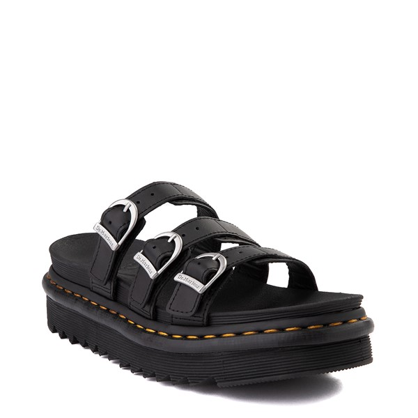 alternate view Womens Dr. Martens Blaire Slide Sandal - BlackALT5