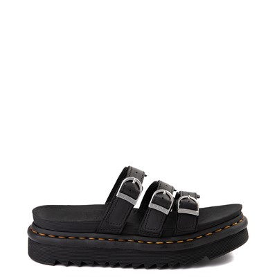 Main view of Womens Dr. Martens Blaire Slide Sandal - Black