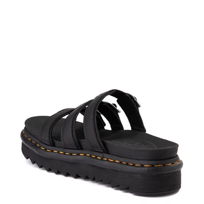 Alternate view of Womens Dr. Martens Blaire Slide Sandal - Black