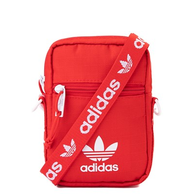 Main view of adidas Originals Crossbody Festival Bag - Red