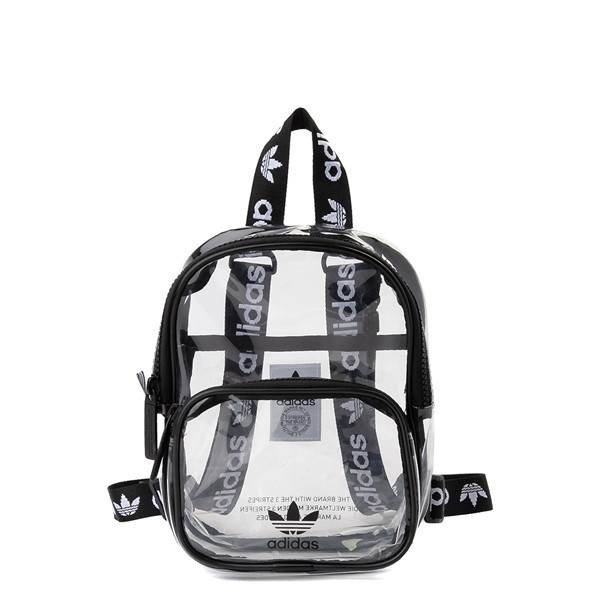 adidas Originals Mini Backpack - Clear / Black