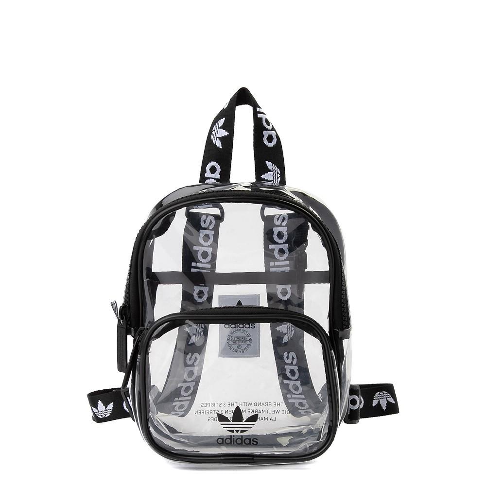 adidas Originals Mini Backpack - Clear / Black