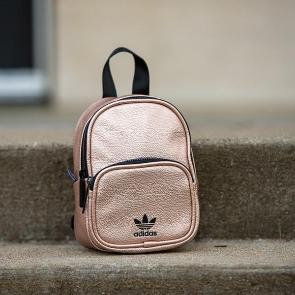 alternate view adidas Mini Backpack - Rose GoldALT1BB