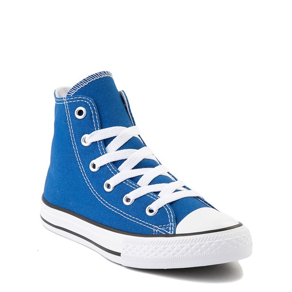 alternate view Converse Chuck Taylor All Star Hi Sneaker - Little Kid - Snorkel BlueALT1B
