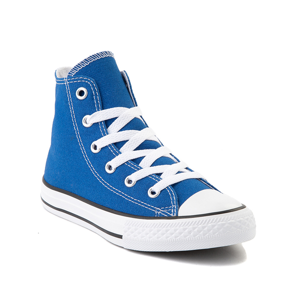 alternate view Converse Chuck Taylor All Star Hi Sneaker - Little Kid - Snorkel BlueALT5