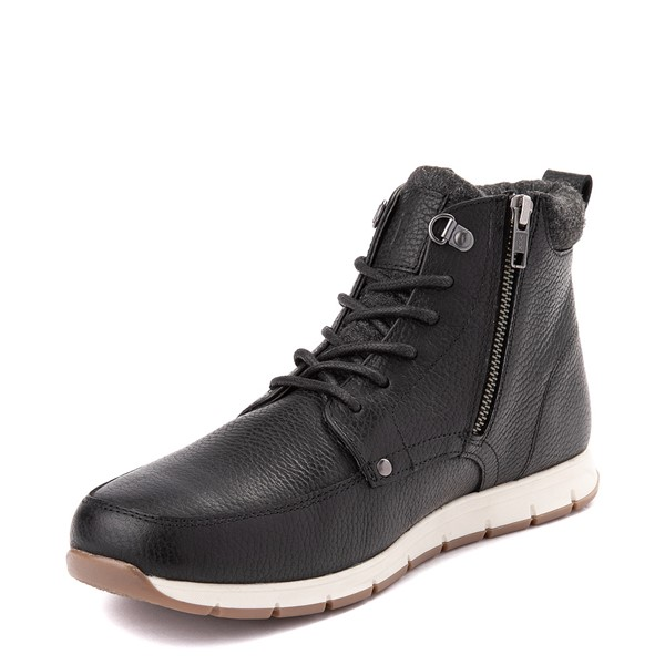 alternate view Mens Crevo Stanmoore Casual Shoe - BlackALT2