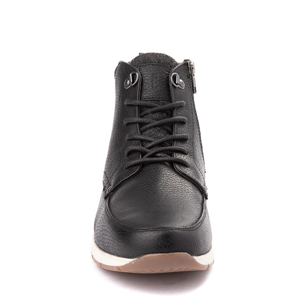 alternate view Mens Crevo Stanmoore Casual Shoe - BlackALT4