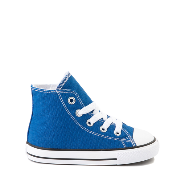 Main view of Converse Chuck Taylor All Star Hi Sneaker - Baby / Toddler - Snorkel Blue