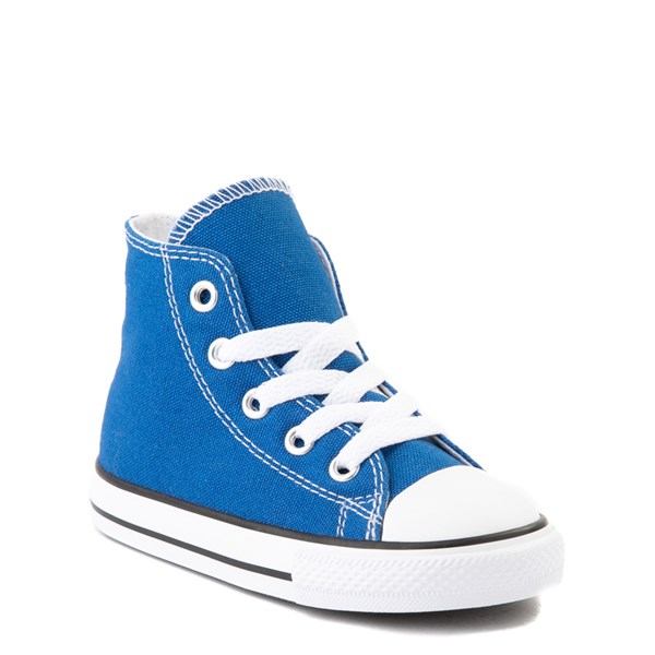 alternate view Converse Chuck Taylor All Star Hi Sneaker - Baby / Toddler - Snorkel BlueALT1B