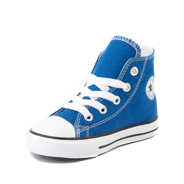 alternate view Converse Chuck Taylor All Star Hi Sneaker - Baby / Toddler - Snorkel BlueALT2