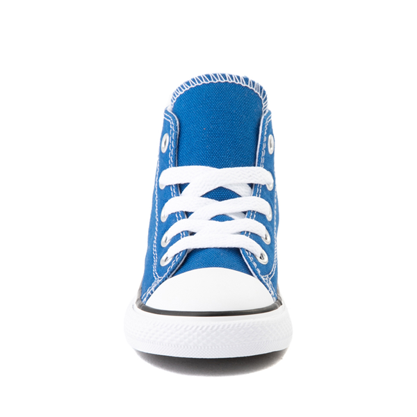 alternate view Converse Chuck Taylor All Star Hi Sneaker - Baby / Toddler - Snorkel BlueALT4