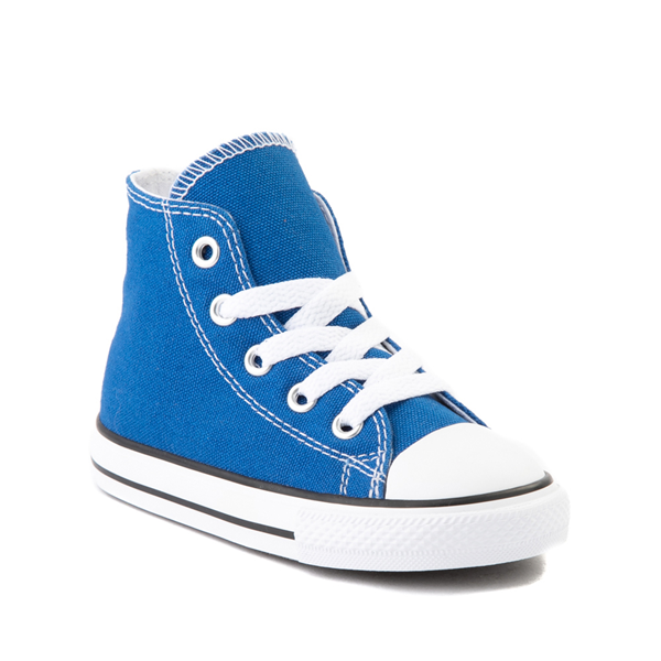 alternate view Converse Chuck Taylor All Star Hi Sneaker - Baby / Toddler - Snorkel BlueALT5