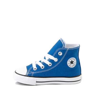 Alternate view of Converse Chuck Taylor All Star Hi Sneaker - Baby / Toddler - Snorkel Blue