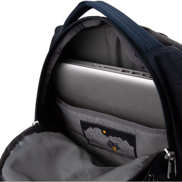 alternate view The North Face Jester Backpack - Urban Navy/Light HeatherALT3