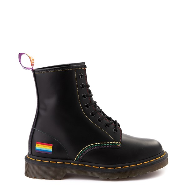 Dr. Martens 1460 8-Eye Pride Boot - Black