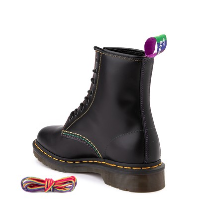 Alternate view of Dr. Martens 1460 8-Eye Pride Boot - Black