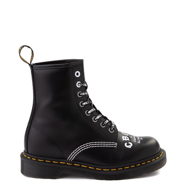 Dr. Martens 1460 8-Eye CBGB & OMFUG Boot - Black