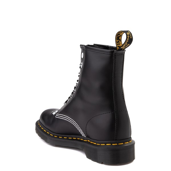 alternate view Dr. Martens 1460 8-Eye CBGB & OMFUG Boot - BlackALT2