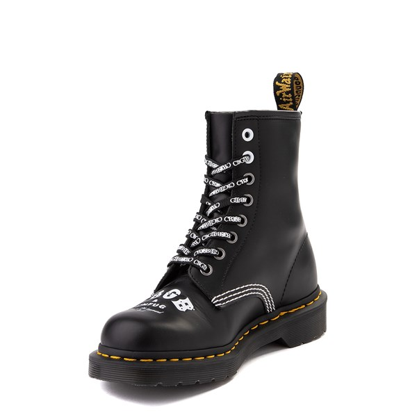 alternate view Dr. Martens 1460 8-Eye CBGB & OMFUG Boot - BlackALT3