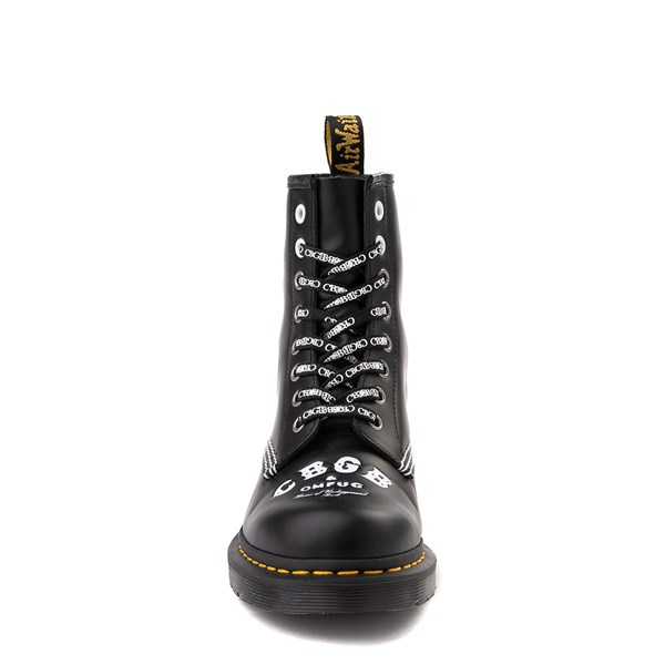 alternate view Dr. Martens 1460 8-Eye CBGB & OMFUG Boot - BlackALT4