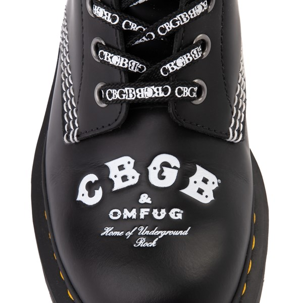 alternate view Dr. Martens 1460 8-Eye CBGB & OMFUG Boot - BlackALT6