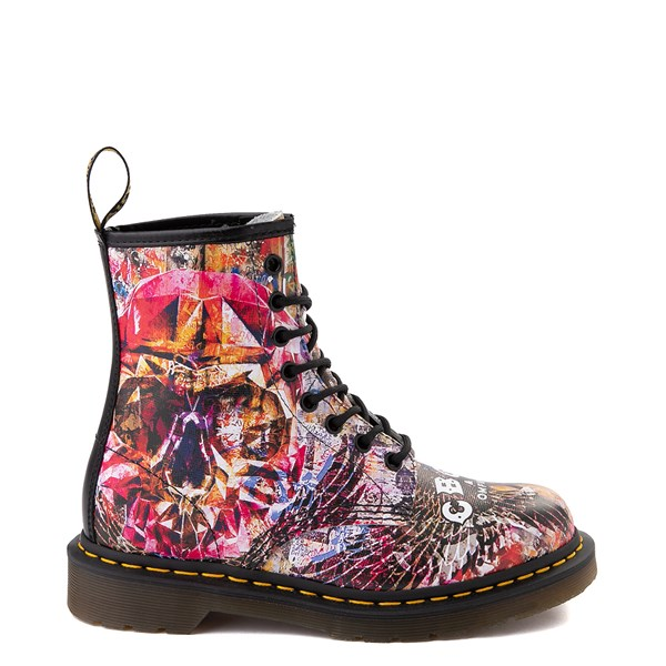 Dr. Martens 1460 8-Eye CBGB & OMFUG Boot - Multi
