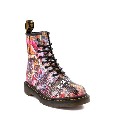 Alternate view of Dr. Martens 1460 8-Eye CBGB & OMFUG Boot - Multi