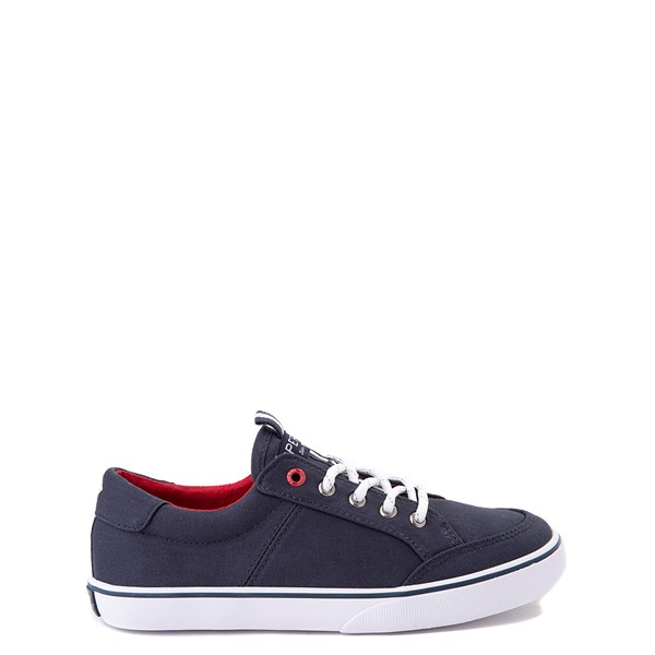 Main view of Sperry Top-Sider Trysail Casual Shoe - Little Kid / Big Kid - Navy / Red