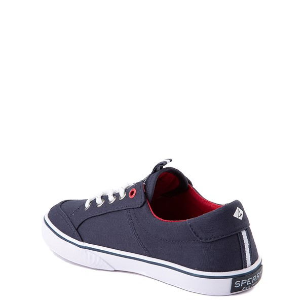 alternate view Sperry Top-Sider Trysail Casual Shoe - Little Kid / Big Kid - Navy / RedALT1