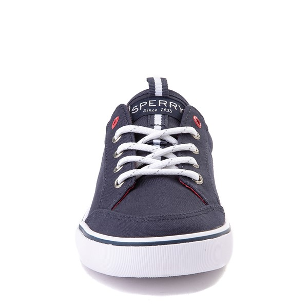 alternate view Sperry Top-Sider Trysail Casual Shoe - Little Kid / Big Kid - Navy / RedALT4