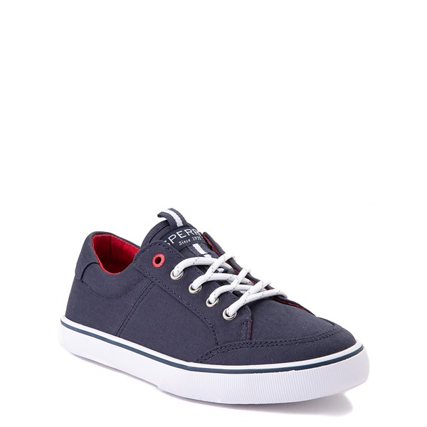 alternate view Sperry Top-Sider Trysail Casual Shoe - Little Kid / Big Kid - Navy / RedALT5