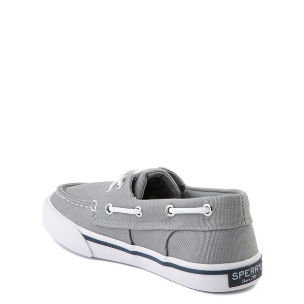alternate view Sperry Top-Sider Bahama Boat Shoe - Little Kid / Big Kid - GrayALT1