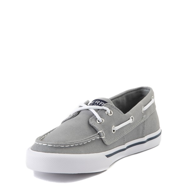 alternate view Sperry Top-Sider Bahama Boat Shoe - Little Kid / Big Kid - GrayALT2