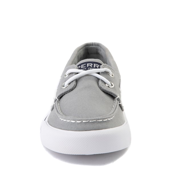 alternate view Sperry Top-Sider Bahama Boat Shoe - Little Kid / Big Kid - GrayALT4