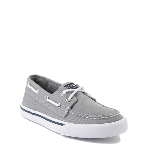alternate view Sperry Top-Sider Bahama Boat Shoe - Little Kid / Big Kid - GrayALT5