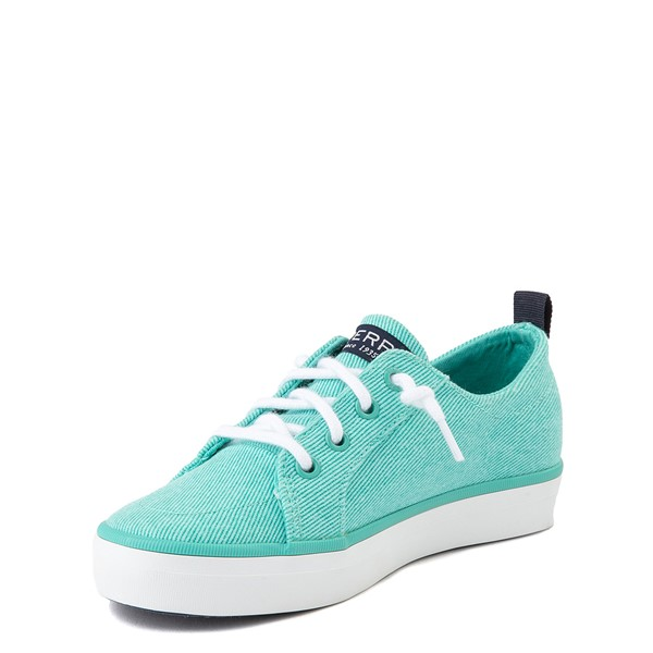 alternate view Sperry Top-Sider Crest Vibe Casual Shoe - Little Kid / Big Kid - TurquoiseALT3