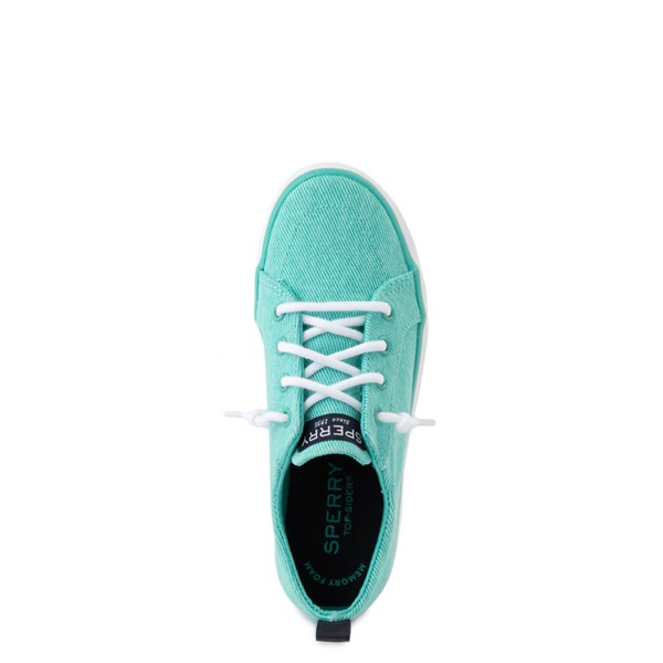 alternate view Sperry Top-Sider Crest Vibe Casual Shoe - Little Kid / Big Kid - TurquoiseALT4B