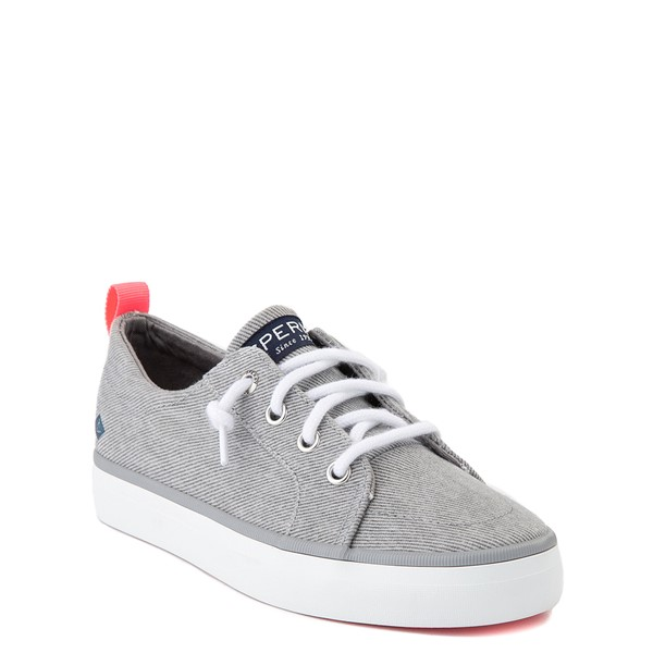 alternate view Sperry Top-Sider Crest Vibe Casual Shoe - Little Kid / Big Kid - GrayALT1