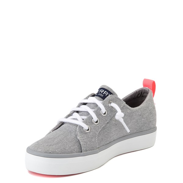 alternate view Sperry Top-Sider Crest Vibe Casual Shoe - Little Kid / Big Kid - GrayALT3